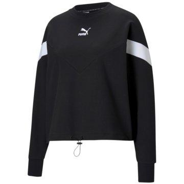 Puma SweatshirtsICONIC MCS CROPPED CREW - 599654 schwarz