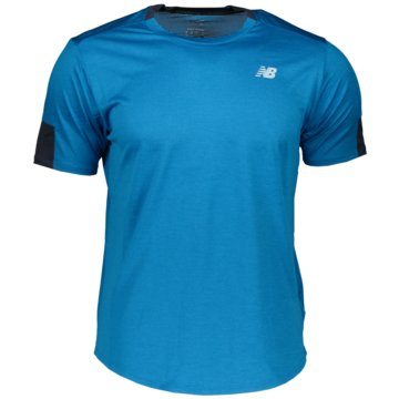 New Balance T-ShirtsFAST FLIGHT SS - MT11240_WBH blau