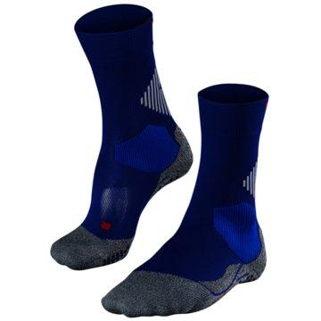 Falke Hohe Socken4 GRIP UNISEX SOCKEN - 16086 blau