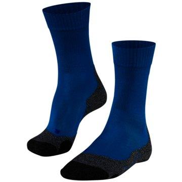 Falke Hohe SockenTK2 COOL HERREN SOCKEN - 16138 blau