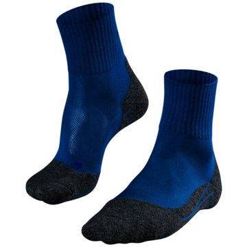 Falke Hohe SockenTK2 SHORT COOL HERREN SOCKEN - 16154 blau