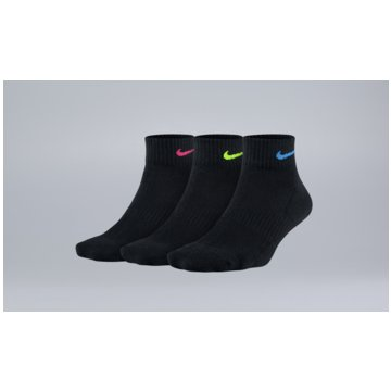 Nike Hohe SockenWomen's Nike Everyday Cushioned Quarter Training Socks (3 Pair) - SX7180-913 -