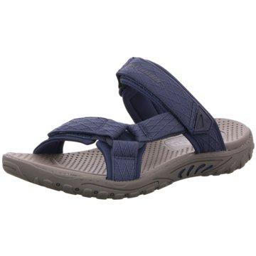 Skechers Komfort Pantolette blau