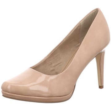 Tamaris Plateau Pumps7500-32048-2 beige