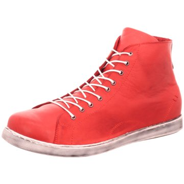 Andrea Conti Komfort Stiefel rot