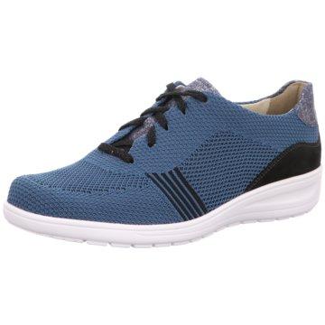 Solidus Komfort SchnürschuhHeaven blau