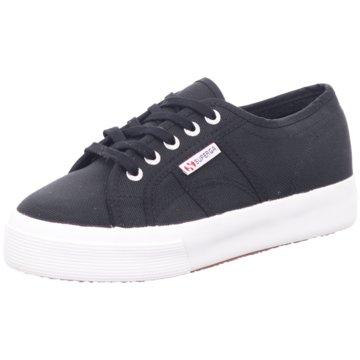Superga Plateau SneakerCotu Women schwarz