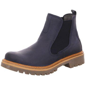 camel active Chelsea Boot blau
