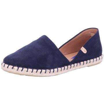 Verbenas Top Trends Slipper blau