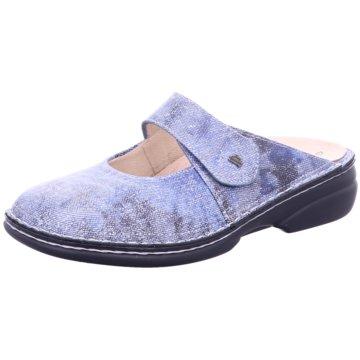 FinnComfort Komfort Pantolette02552 Stanford blau