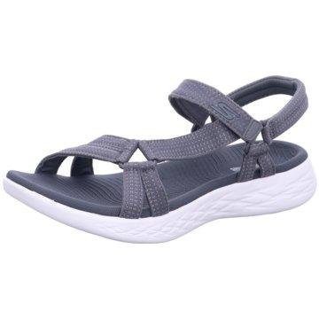 Skechers Bequeme Sandalen grau