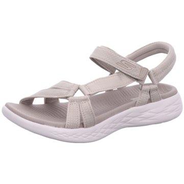 Skechers Bequeme Sandalen beige
