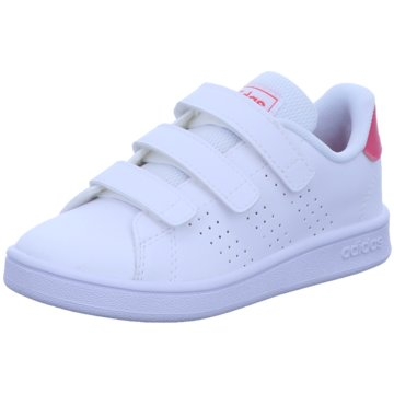adidas Sneaker LowADVANTAGE C - EF0221 weiß