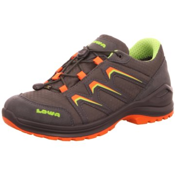LOWA Schnürschuh orange