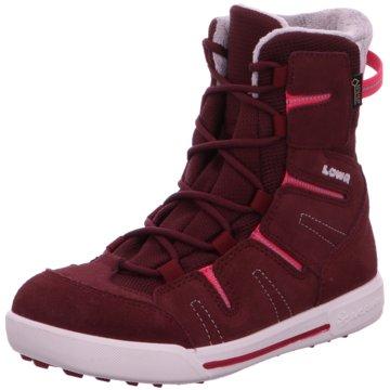 LOWA SchnürstiefelLilly II GTX Mid Stiefel Kinder Outdoorschuhe rot rot