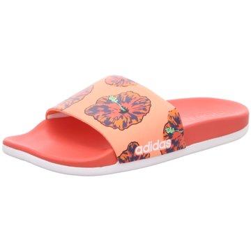 adidas Badeschuh coral
