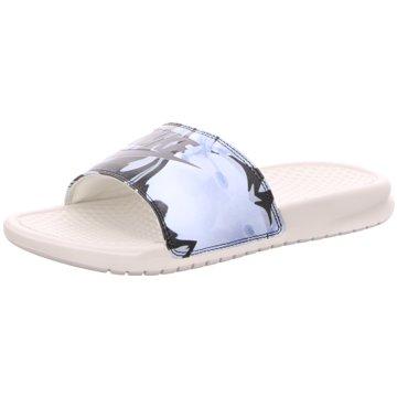 Nike Pool Slides weiß