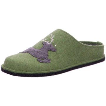 ara Hausschuh grün