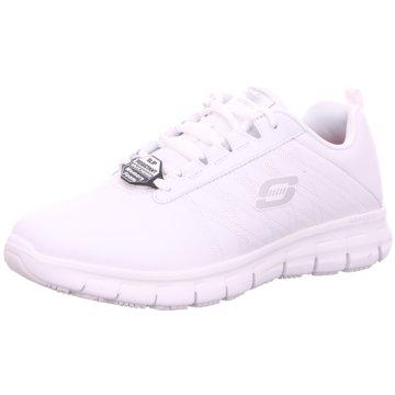 Skechers Komfort Schnürschuh weiß