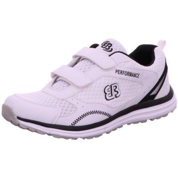 EB Sportlicher Slipper weiß