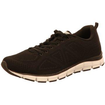 Boras Sneaker Low schwarz