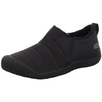 Keen Komfort Slipper schwarz