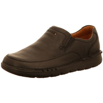 Clarks Komfort Slipper schwarz
