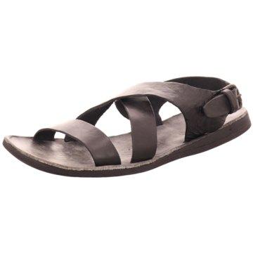 BRADOR Sandale schwarz