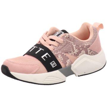 Jette Sportlicher Schnürschuh rosa