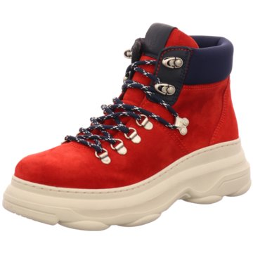 Marc O'Polo Stiefelette rot