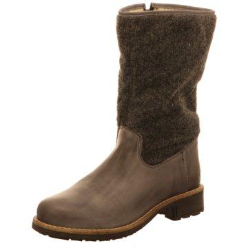 Online Shoes Komfort Stiefel grau