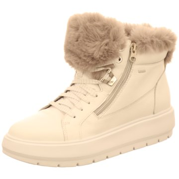 Geox Sneaker HighD KAULA B ABX D - TU.LE SY.FUR weiß