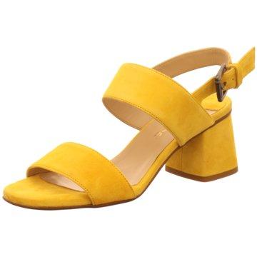 Lamica Riemchensandalette gelb