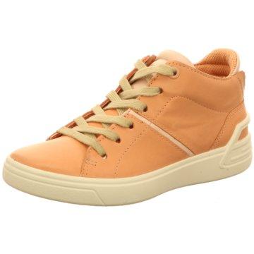 Ecco Halbhoher Stiefel orange