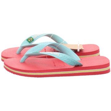 Havaianas Offene Schuhe pink