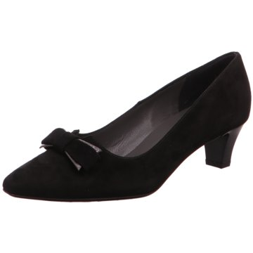 Peter Kaiser Flacher Pumps schwarz