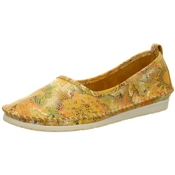 Andrea Conti Komfort Slipper gelb