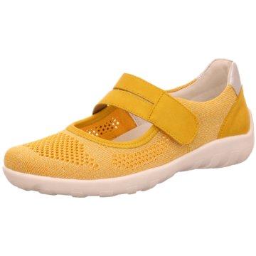 Remonte Komfort Slipper gelb
