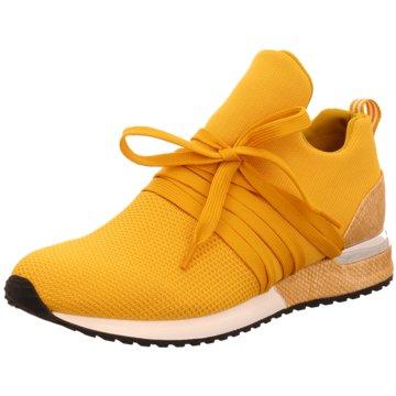 La Strada Sportlicher Schnürschuh gelb