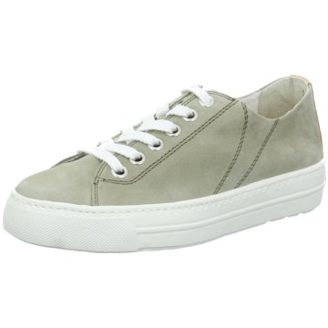 Paul Green Sportlicher SchnürschuhSneaker grün