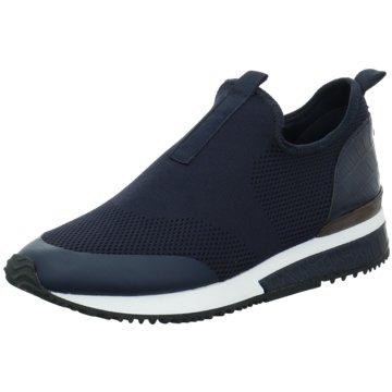 La Strada Sportlicher Slipper blau