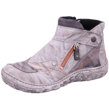 KRISBUT Komfort Stiefelette grau
