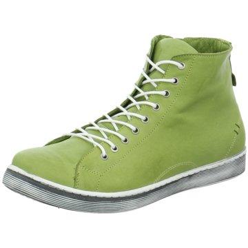 Andrea Conti Komfort Stiefelette grün