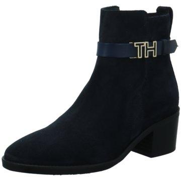Tommy Hilfiger Klassische Stiefelette blau