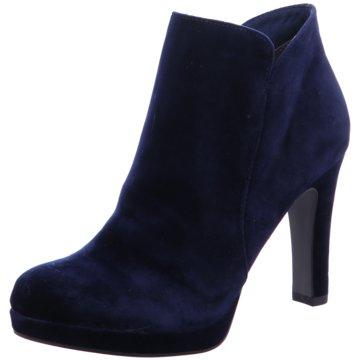 Tamaris Plateau Stiefelette blau