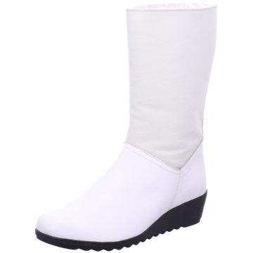 Caprice Komfort Stiefelette weiß