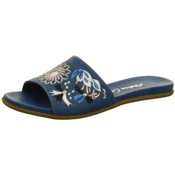 Andrea Conti Klassische Pantolette blau
