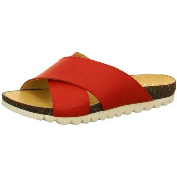 Andrea Conti Klassische Pantolette rot