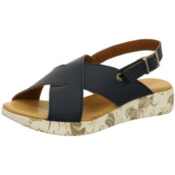 Andrea Conti Komfort Sandale schwarz