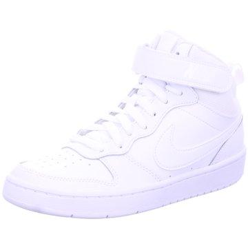 Nike Sneaker HighCOURT BOROUGH MID 2 - CD7782-100 weiß